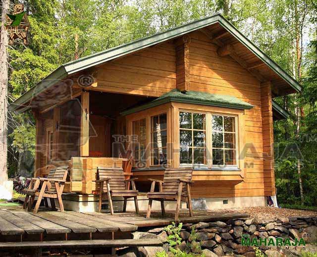 Wooden Log Homes Villa Garden Sheds Designs The Maharaja Log Homes