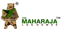 Maharaja Log Homes – Logo